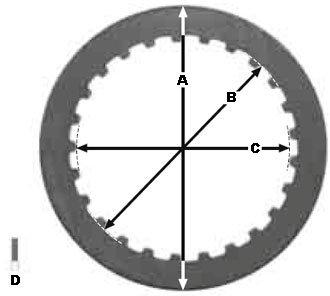 Стальные мото диски сцепления TRW Lucas для мотоциклов MES343-6