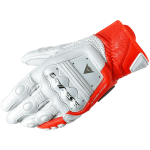Dainese Перчатки 4-STROKE 2 654 WHITE/FLUO-RED