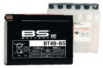 BS-Battery BT4B-BS Аккумулятор (YT4B-BS) для мотоцикла.