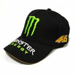 Бейсболка Monster Energy черная