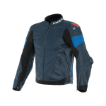 Куртка кожаная Dainese SUPER RACE BL-IRIS/LIG-BLU/FL-RE