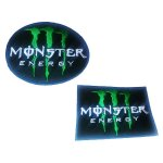 Crazy Iron Шеврон с логотипом MONSTER ENERGY