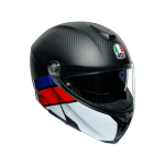 AGV Шлем SPORTMODULAR LAYER CARBON/RED/BLUE